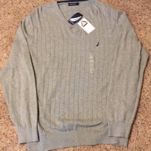 Nautica V Neck Sweater (NWT)